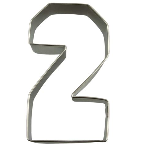 Diskon Numeric Biscuit Cutter collegiate number 2 cookie cutter acc 7837 country kitchen sweetart