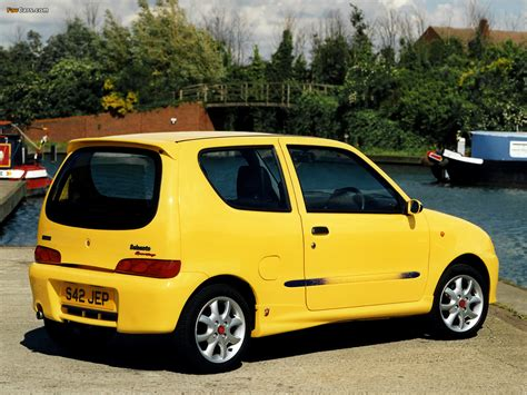 fiat seicento sporting abarth fiat seicento sporting abarth uk spec 1998 2001 pictures