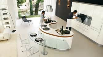 curved kitchen island from record cucine digsdigs portable outdoor islands decor design ideas
