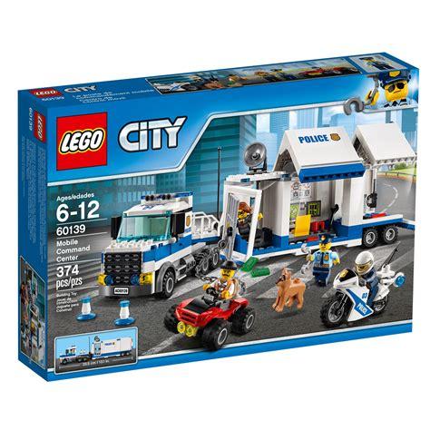 amazon lego amazon com lego city police mobile command center 60139