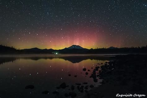Oregon Northern Lights by Central Oregon Photographers Their Inspirational