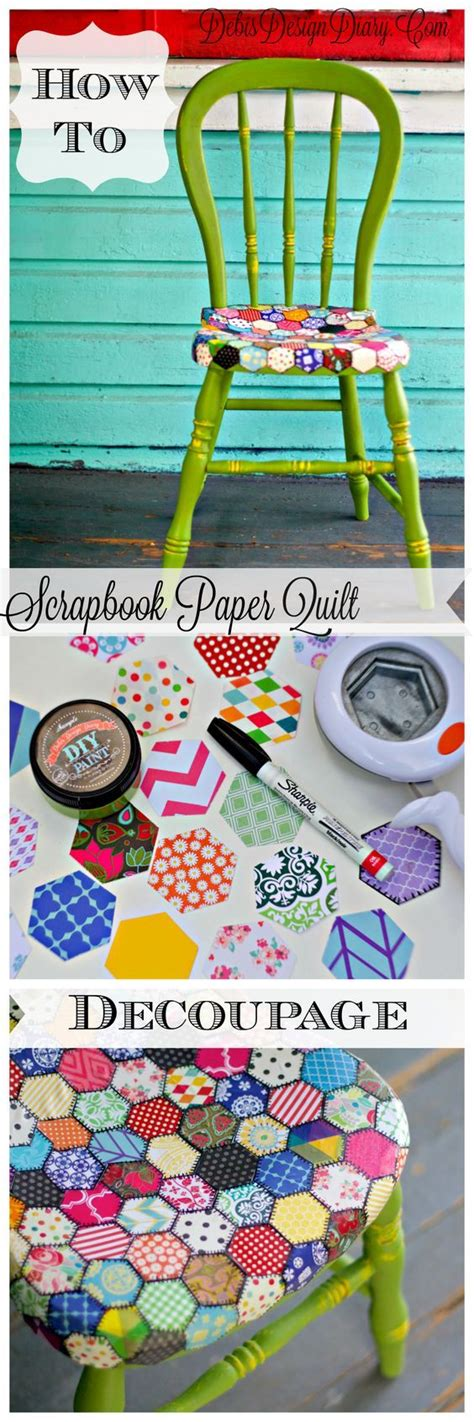 decoupage scrapbook paper on wood 25 best ideas about wood scrapbook paper on