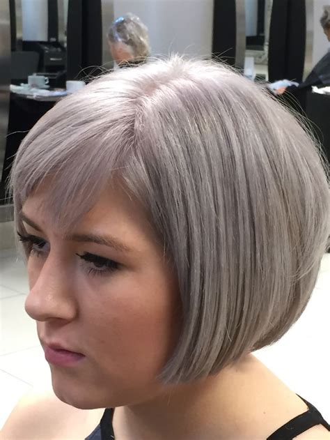 my illumina silver grey toner using wella illumina and perfecton my