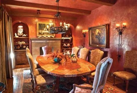los arcos dining room western decor