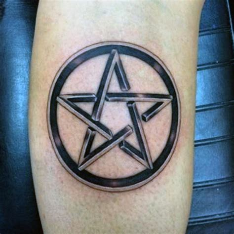 pentacle tattoo 50 pentagram designs for five pointed ideas