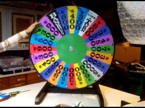 Wheel Of Fortune Prize Wheel Demo Youtube How To Make A Wheel Of Fortune On Powerpoint