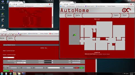 quot autohome quot a web based gui for arduino powered home