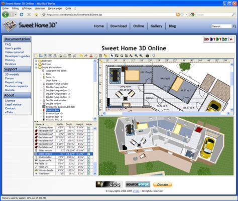 sweet home 3d design software reviews sweet home 3d download by sweethome3d at cad 3d modeling