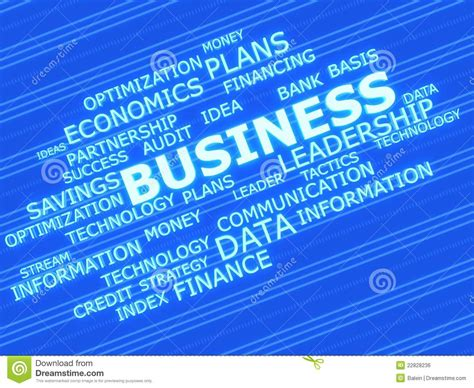 related words business related words royalty free stock image image 22828236