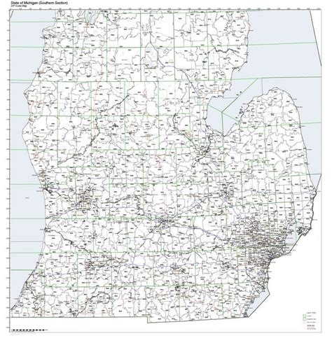 michigan zip code map workingmaps zip code maps