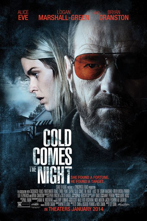 Cold Comes The Night Movie Poster | cold comes the night dvd release date march 4 2014