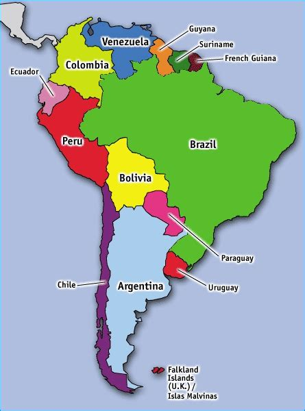 map of south american countries discovering south american countries travelbackpackbags