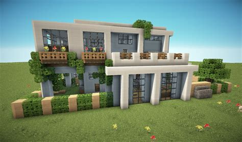 building a mansion first modern house minecraft project