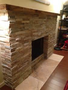 Stack stone fireplace remodel 183 more info