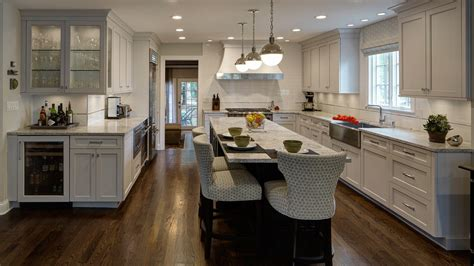 L Shaped Kitchen Design Perfected Hinsdale Il Drury Kitchen Designs