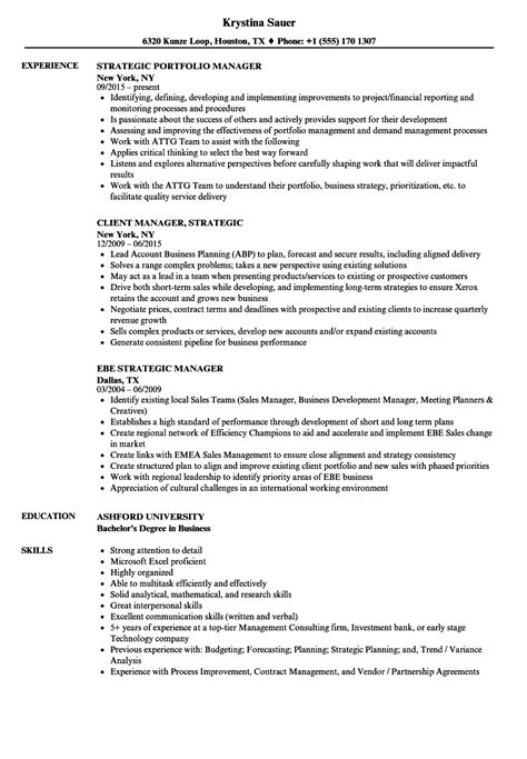 free sle resume marketing officer commodity manager sle resume 28 images resume sle