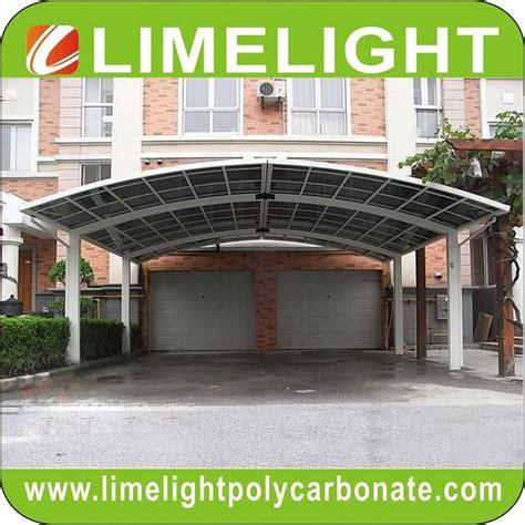 Aluminum Frame Carport by Aluminium Frame Polycarbonate Carport Modern Mini Carport