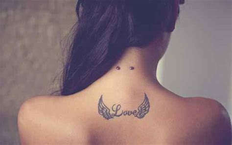 25 Tattoos For Women Meaningful And Gorgeously Appealing Small Wing Tattoos For On Back