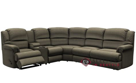 large reclining sectional customize and personalize harlow by palliser true