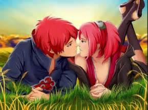 Kartun peluk cium mesra cewek cowok rayuan romantis buat kekasih