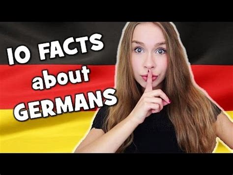 10 facts about german