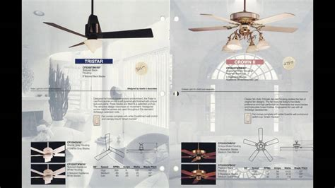Ceiling Fan Catalogue by Emerson Quot Air Design Quot Ceiling Fan Catalog From 1991