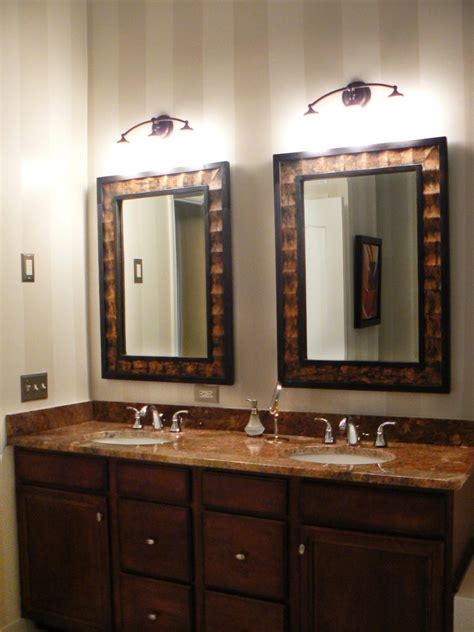 rustic bathroom mirrors bathroom home decor in rustic