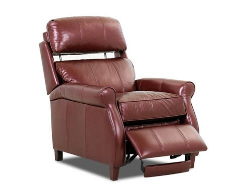 comfort design leather recliner leslie recliner cl707 comfort design