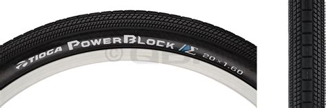 Rubber Protect 20x1 bikeman tioga powerblock tire 20x1 4 wire bead black