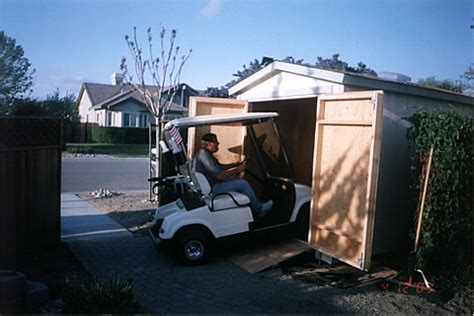 Golf Cart Shed by California Custom Sheds Golf Cart Shed