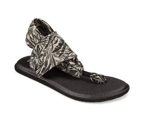 Hibiscus Print Slingback Sandals By Scorah Pattullo by Sanuk Sling 2 Print Womens Sandals