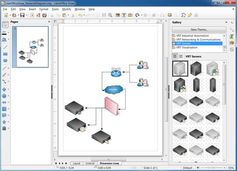 libreoffice visio 5 best network diagram software mac visio like