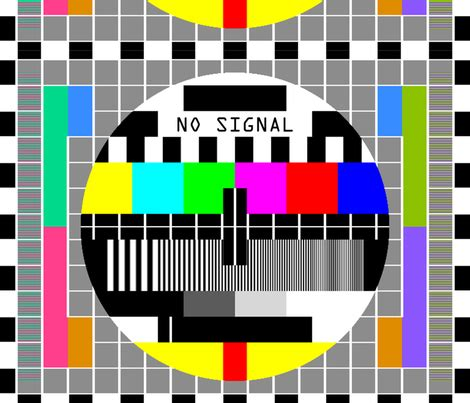 Test Pattern Cards | tv television test cards patterns rainbow multi colors