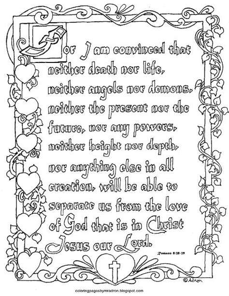 Romans 8 Coloring Page by Coloring Pages For By Mr Adron Printable Romans 8