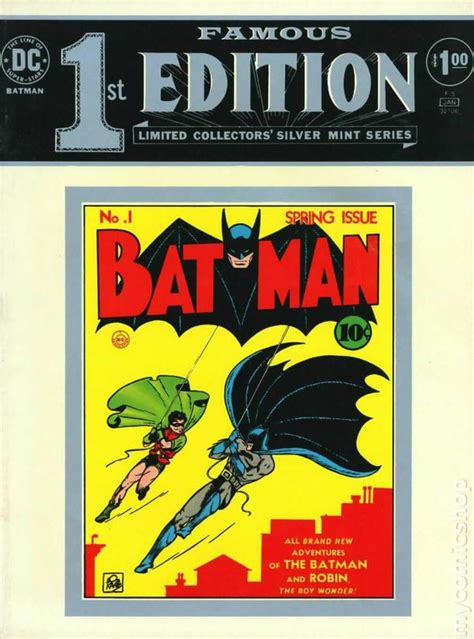 axioms 1st edition books edition batman 1975 comic books