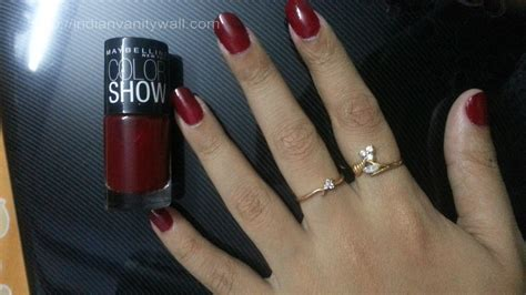 Maybelline Color Show maybelline colorshow wine dine notd