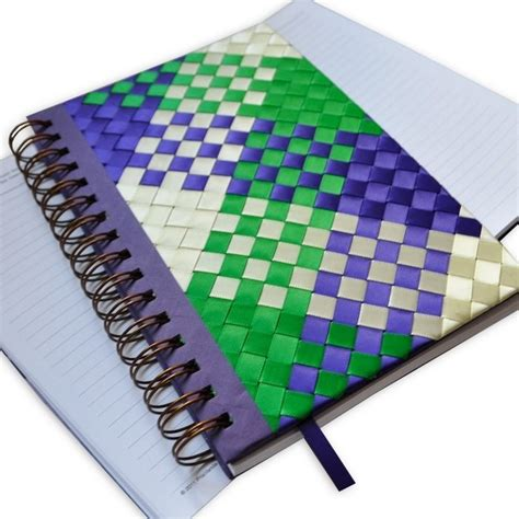 Patchwork And Craft - weaving and patchwork notebook more craft ideas crafts