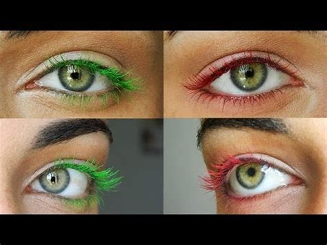 colored mascara diy colored mascara makeupandartfreak