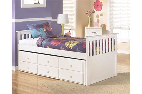 ashley trundle bed lulu twin trundle bed ashley furniture homestore
