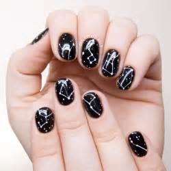 simple constellation nail art chalkboard nails nail