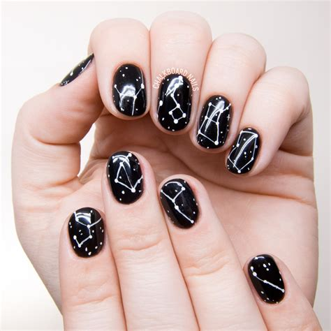 Nail Artist by Simple Constellation Nail Chalkboard Nails Nail
