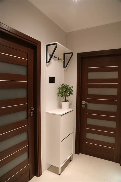 Hall cabinet with high gloss panel   IKEA Hackers   IKEA