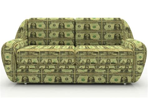money in couch spring planning clean your home and get a plan in place