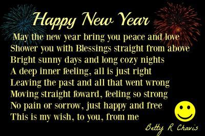 simple new year poem my 3rd new year poem