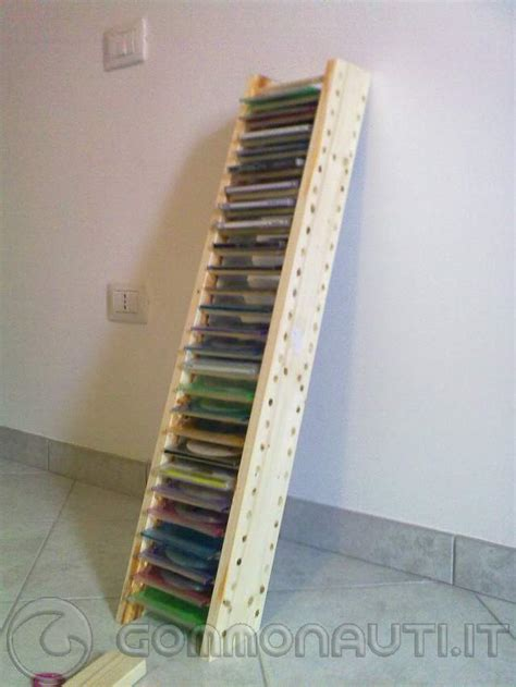 come costruire un porta cd porta cd in legno fai da te