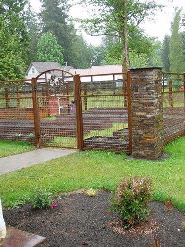 25 best ideas about metal garden gates on