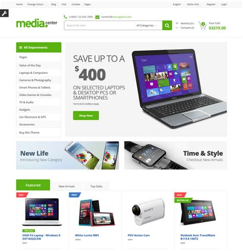ecommerce html templates 25 best html ecommerce website templates free premium