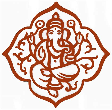 ganesh tattoo outline ganesha outline tattoo page 9 clipart best clipart best
