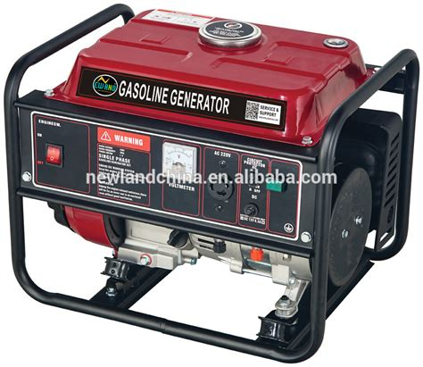 154f gasoline engine protable generator home use ac output