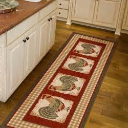 Country Kitchen Rugs Orian Country Rooster Runner Rug 1 11 Quot X 6 Walmart